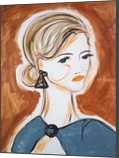 Sarah, Paintings, Abstract,Impressionism,Minimalism,Modernism,Primitive, Portrait, Acrylic, By Lianne Kocks