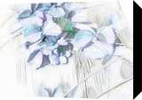 Satin flowers, Illustration, Fine Art, Nature, Digital, By BENARY  IMAGE