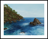 Sea, Paintings, Realism, Seascape, Canvas,Oil, By Nataliya KyrkachAntonenko