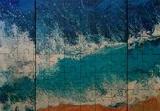 SEA triptych (large), Paintings, Abstract,Fine Art, Landscape,Nature,Seascape, Acrylic,Canvas, By Irini Karpikioti