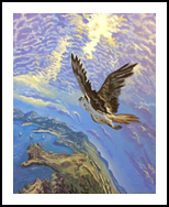 Sense of the Flight(acrylic on canvas), Paintings, Fine Art, Landscape, Acrylic, By Victoria Trok