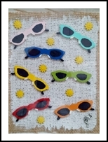 Shades & Suns, Assemblage, Modernism, Composition, Mixed, By Briz Conard