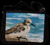Shore Bird, Paintings, Fine Art,Impressionism, Nature,Seascape,Wildlife, Acrylic,Canvas, By Pamela D Cauley