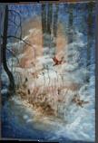 Sleepy forest, Paintings, Surrealism, Fantasy, Acrylic, By Marta Kuźniar
