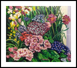 Smith College Spring Flower Show, Paintings, Impressionism, Floral, Oil, By Richard John Nowak