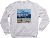 Men's Vapor Apparel Performance Long Sleeve Sweatshirt - White