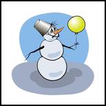 snowman, Digital Art / Computer Art, Chance, Cartoon, Digital, By Valerii Stoika