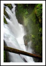 Sol Duc Falls, Photography, Fine Art,Photorealism, Landscape,Nature, Photography: Premium Print, By Mike DeCesare