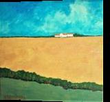 Solitude, Paintings, Fine Art,Impressionism,Realism, Landscape, Acrylic,Canvas, By David John Edwards