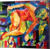 Some_Body_Soul, Paintings, Cubism,Expressionism,Pop Art, Figurative, Canvas,Oil,Spray Paint,Wood, By Piotr Ryszard Kachny