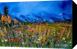 Sounds of the blue, Paintings, Impressionism, Landscape, Canvas, By Valeriy Politov