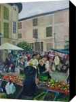 Spanish Market, Paintings, Realism, Figurative,Landscape, Acrylic, By Matthew David Evans