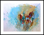 Splashes, Paintings, Abstract, Composition, Acrylic,Canvas, By Irini Karpikioti