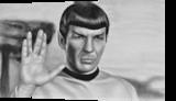 spock star trek 3d, Drawings / Sketch, Realism, 3-D, Oil, By Stefan Pabst