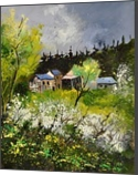 spring 454140, Paintings, Impressionism, Nature, Canvas, By Pol Henry Ledent