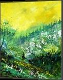 spring 454150, Paintings, Impressionism, Landscape, Canvas, By Pol Henry Ledent