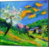 Spring 8871, Paintings, Expressionism, Landscape, Oil, By Pol Henry Ledent