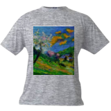 Spring 8871, Paintings, Expressionism, Landscape, Oil, By Pol Henry Ledent