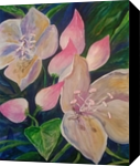 Spring Fed, Paintings, Impressionism, Floral, Acrylic, By Marion Grant Freeman