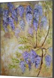 SPRING GIFT original painting of wisteria in bloom 70x100cm, Paintings, Fine Art,Impressionism,Realism, Botanical,Floral,Moving Images,Nature, Acrylic, By Emilia Milcheva