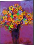 SPRING MADNESS original flowers still life painting, Paintings, Abstract,Expressionism,Fine Art, Botanical,Floral,Nature,Still Life, Acrylic,Canvas, By Emilia Milcheva
