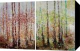 SPRING MOODS, Paintings, Fine Art,Impressionism,Modernism, Land Art,Landscape,Nature, Acrylic, By Emilia Milcheva