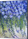 SPRING WISTERIA, Paintings, Abstract, Botanical,Floral,Nature, Acrylic, By HSIN LIN