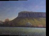 Springtime Near Benbulben, Paintings, Fine Art, Landscape, Oil, By Sean Conlon