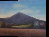 Springtime Near Croagh Patrick, Paintings, Fine Art, Landscape, Oil, By Sean Conlon