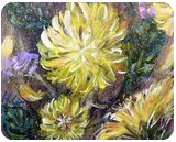 STANDING RIGHT HERE - DANDELION, Paintings, Abstract,Modernism,Surrealism, Botanical,Floral,Nature, Acrylic, By HSIN LIN