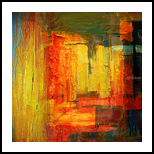 Stations *1, Paintings, Abstract, Analytical art, Canvas, By Bashir Abduljaber Ali Hajji