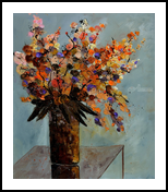 still life 675101, Paintings, Expressionism, Botanical, Canvas, By Pol Henry Ledent