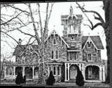 Stone Victorian Malvern Pa, Architecture, Realism, Architecture, Ink, By William Clark