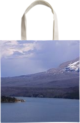 Stormy Skies Over St Mary Lake, Photography, Photorealism, Landscape, Photography: Metal Print,Photography: Photographic Print,Photography: Premium Print,Photography: Stretched Canvas Print, By Tracey Eileen Vivar