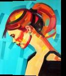 StyleVolution, Paintings, Expressionism,Pop Art, Figurative,Portrait, Canvas,Mixed,Oil, By Piotr Ryszard Kachny