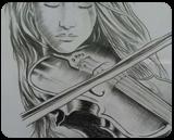 Sukoon, Drawings / Sketch, Fine Art, Analytical art, Canvas, By Annu Priya Jangra