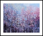 Summer Colour in the Trees, Paintings, Impressionism, Floral, Oil, By Therese OKeeffe
