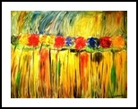 Summer In Blooms, Paintings, Pop Art, Floral,Nature, Acrylic,Gouache, By asm g ambia