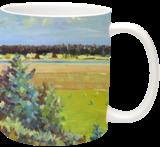 Summer Midday, Paintings, Impressionism,Realism, Landscape, Canvas, By Liudvikas Daugirdas