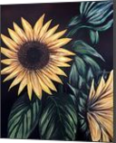 Sunflower Life, Paintings, Fine Art, Nature, Acrylic, By adam santana