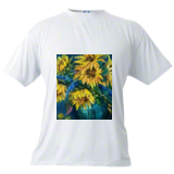 Sunflowers Still Life, Paintings, Expressionism,Fine Art,Impressionism, Still Life, Oil, By Loretta D Luglio
