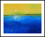 Sunrise Day, Paintings, Impressionism, Landscape, Canvas, By Alicia Maury Fine Art
