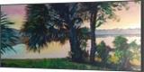 Sunrise Out Back, Paintings, Impressionism, Seascape, Acrylic, By Marion Grant Freeman