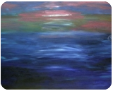 Sunset #2, Paintings, Impressionism, Landscape, Oil, By MD Meiser