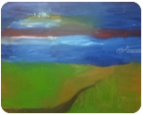 Sunset #5, Paintings, Impressionism, Landscape, Oil, By MD Meiser