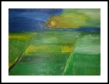Sunset #7, Paintings, Impressionism, Landscape, Oil, By MD Meiser