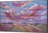 SUNSET OVER THE ROSE VALLEY, Paintings, Expressionism,Fine Art,Impressionism,Realism,Romanticism, Land Art,Landscape,Nature, Oil, By Emilia Milcheva