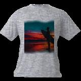 Surfer Sunset, Digital Art / Computer Art, Realism, People, Digital, By Joshua Bindseil