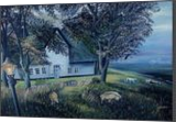 Sylt 1991, Paintings, Expressionism,Realism, Landscape, Canvas,Oil,Painting, By Berthold von Kamptz
