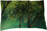 Tarn, Paintings, Fine Art, Landscape,Nature, Oil,Wood, By Angela Suto